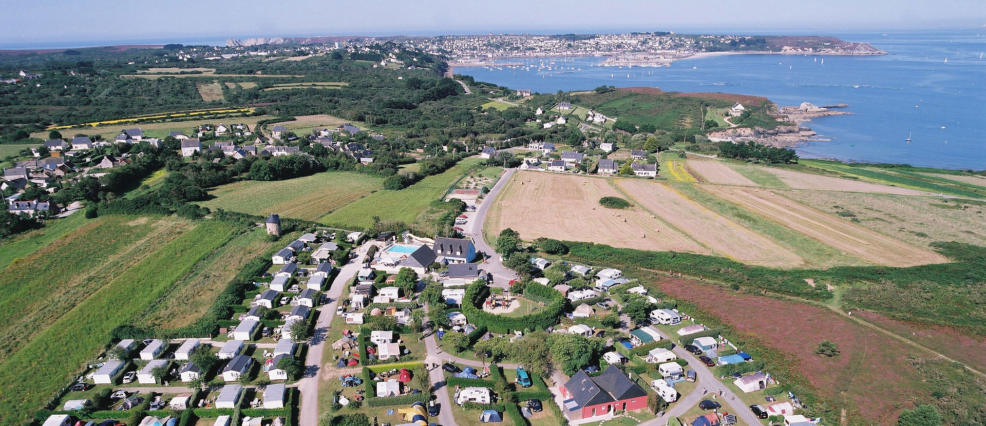 camping grand large crozon camping finistere